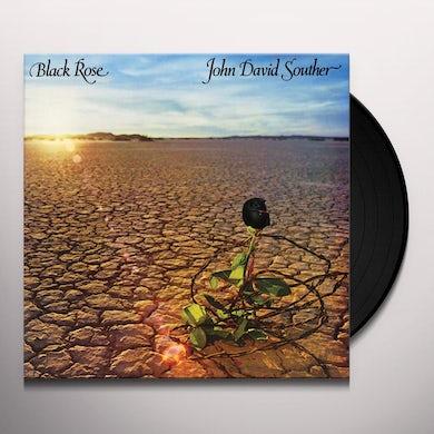 J.D. Souther BLACK ROSE Vinyl Record
