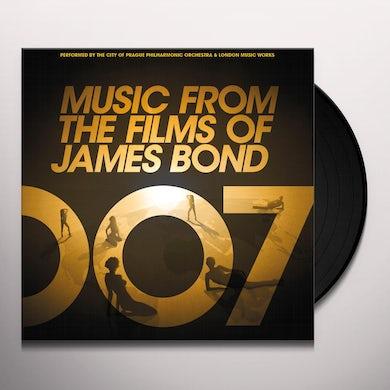 City Of Prague Philharmonic Orchestra MUSIC FROM THE FILMS OF JAMES BOND (GOLD VINYL) Vinyl Record