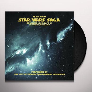 City Of Prague Philharmonic Orchestra MUSIC FROM STAR WARS SAGA (GREY VINYL) Vinyl Record