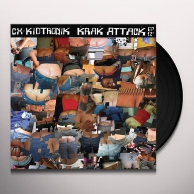 Cx Kidtronik KRAK ATTAK EP Vinyl Record
