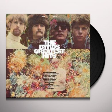 The Byrds GREATEST HITS Vinyl Record