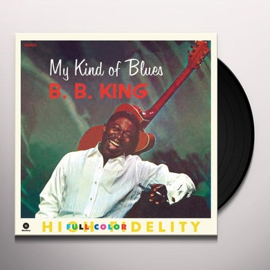 B.B. King MY KIND OF BLUES Vinyl Record - Spain Release