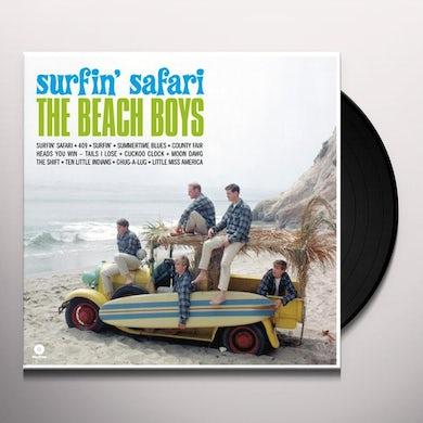 The Beach Boys SURFIN' SAFARI Vinyl Record - Spain Release