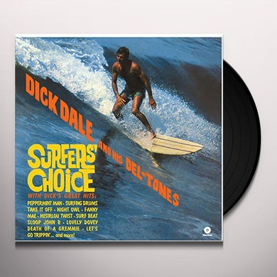 Dick Dale SURFER'S CHOICE Vinyl Record - Spain Release