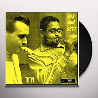 Dizzy Gillespie DIZ & GETZ Vinyl Record