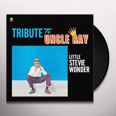 Stevie Wonder  TRIBUTE TO UNCLE RAY Vinyl Record - Spain Release