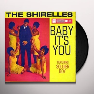 The Shirelles BABY IT'S YOU Vinyl Record - Spain Release