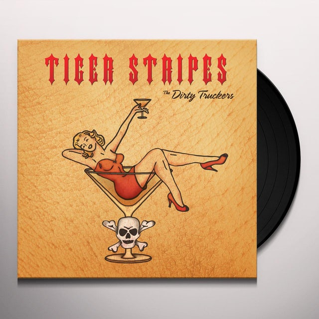 Dirty Truckers TIGER STRIPES Vinyl Record