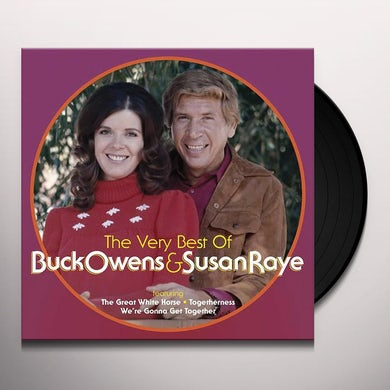 The Very Best Of Buck Owens & Susan Raye (LP) Vinyl Record