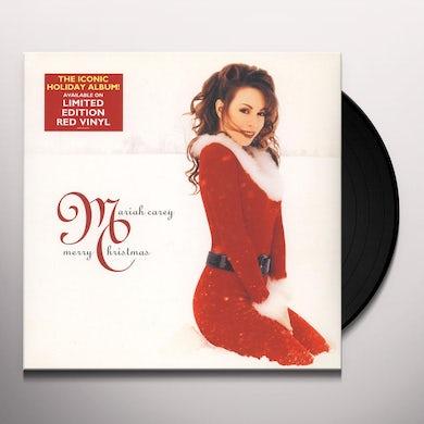 Mariah Carey MERRY CHRISTMAS Vinyl Record