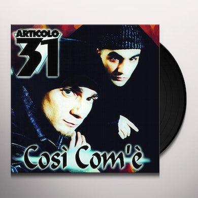 Articolo 31 COSI COM'E' Vinyl Record