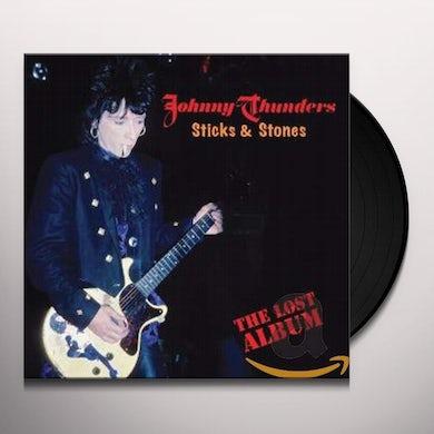 Johnny Thunders Sticks & Stones: The Lost Album Vinyl Record