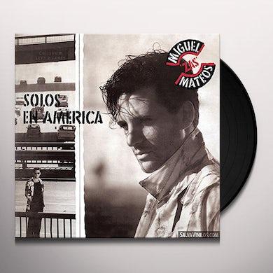 Miguel Mateos SOLOS EN AMERICA Vinyl Record