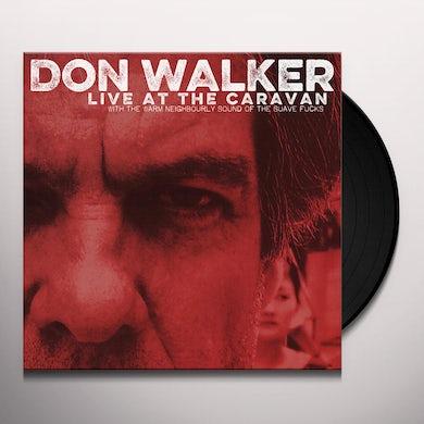 Don Walker LIVE AT THE CARAVAN Vinyl Record