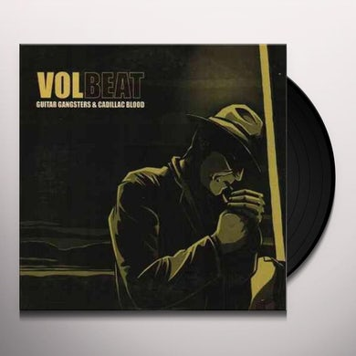 Volbeat GUITAR GANGSTER & CADILLAC BLOOD Vinyl Record