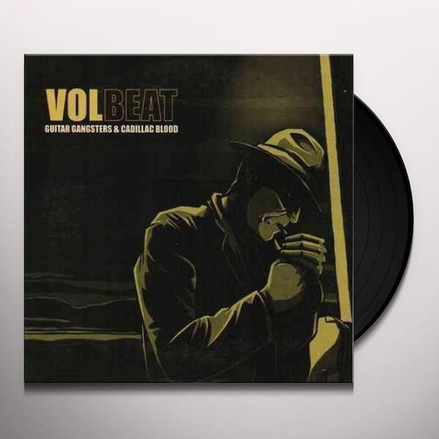 Volbeat GUITAR GANGSTER & CADILLAC BLOOD Vinyl Record
