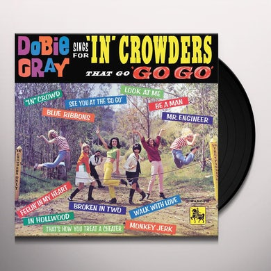 """Sings For """"In"""" Crowders That Go """"Go-Go (LP) Vinyl Record"""