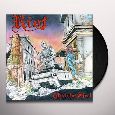 Riot THUNDERSTEEL Vinyl Record