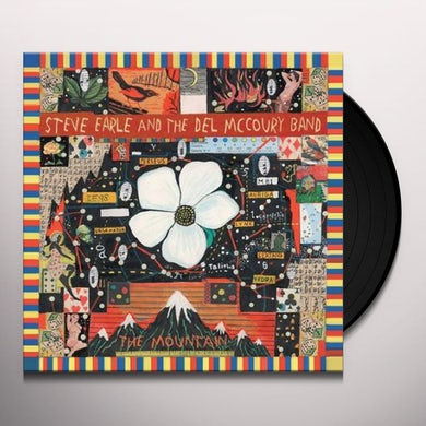 Steve Earle & Del Mccoury Band MOUNTAIN Vinyl Record