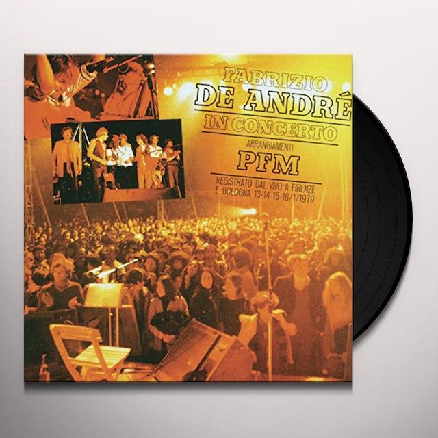 Fabrizio De Andre ARRANGIAMENTI PFM VOL 1 Vinyl Record