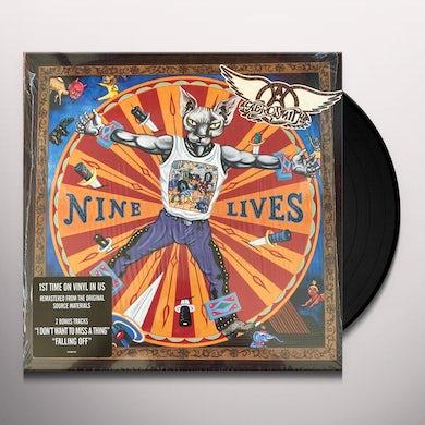 Aerosmith Nine Lives Vinyl Record