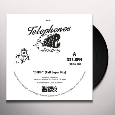 Telephones VIBE REMIXES Vinyl Record
