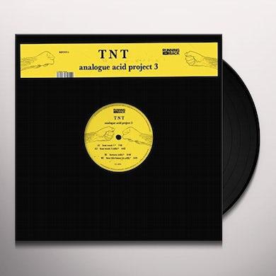 Tnt ANALOGUE ACID PROJECT 3 Vinyl Record