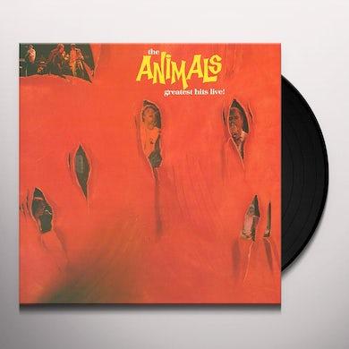 The Animals GREATEST HITS LIVE Vinyl Record