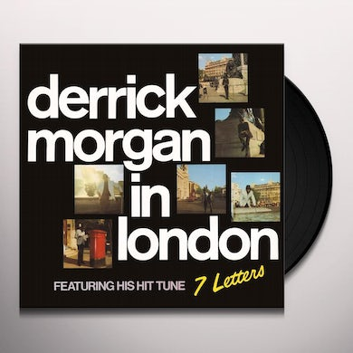 Derrick Morgan IN LONDON Vinyl Record