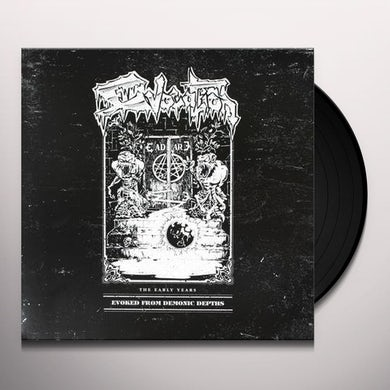 Evocation EVOKED FROM DEMONIC DEPTHS: EARLY YEARS Vinyl Record