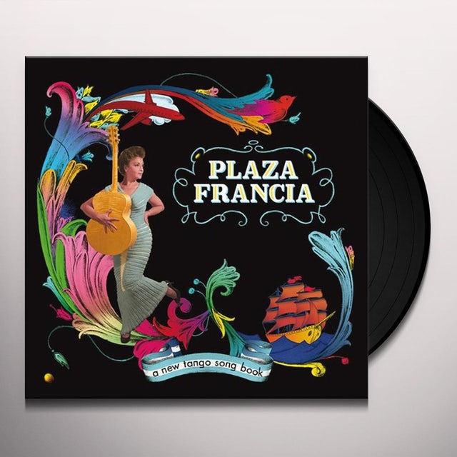 Plaza Francia NEW TANGO SONG BOOK Vinyl Record