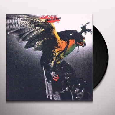 Budgie IN FOR THE KILL Vinyl Record