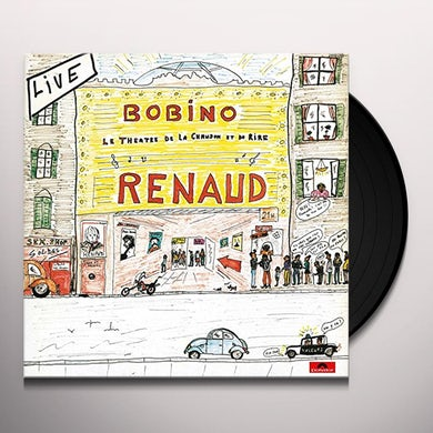 Renaud LIVE BOBINO 80 Vinyl Record