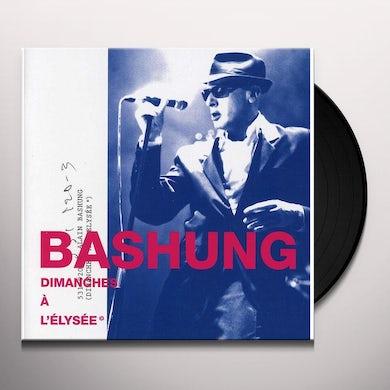 Alain Bashung UN DIMANCHE A L'ELYSEE Vinyl Record