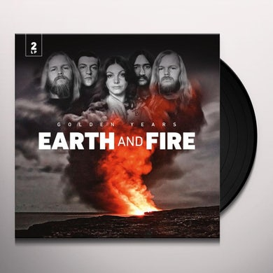 Earth & Fire GOLDEN YEARS Vinyl Record
