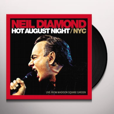 Neil Diamond Hot August Night/NYC Live From Madison Square Garden (2 LP) Vinyl Record