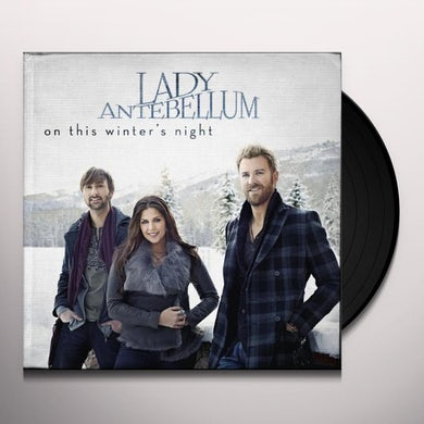 Lady A ON THIS WINTER'S NIGHT Vinyl Record