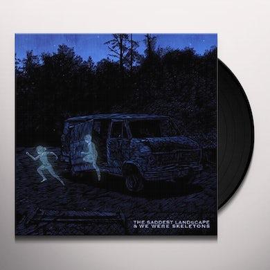 Saddest Landscape / We Were Skeletons SPLIT Vinyl Record