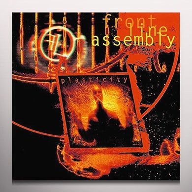 Front Line Assembly PLASTICITY Vinyl Record