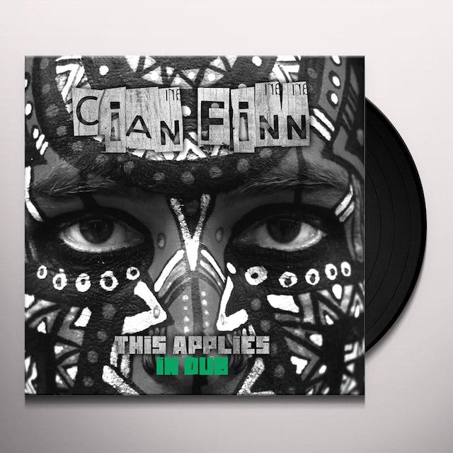 Cian Finn THIS APPLIES Vinyl Record