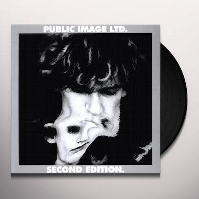 Public Image Ltd SECOND EDITION Vinyl Record