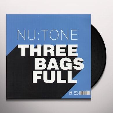 Nu:tone THREE BAGS FULL Vinyl Record