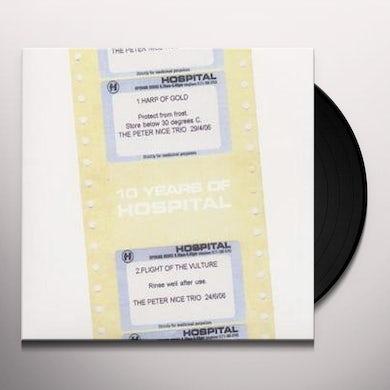 Peter Nice Trio HARP OF GOLD/FLIGHT OF THE VULTURE Vinyl Record - UK Release