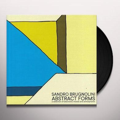 Sandro Brugnolini ABSTRACT FORMS Vinyl Record