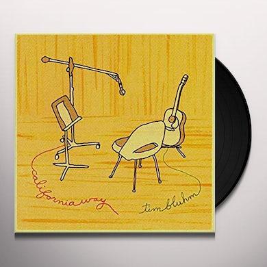 Tim Bluhm CALIFORNIA WAY Vinyl Record