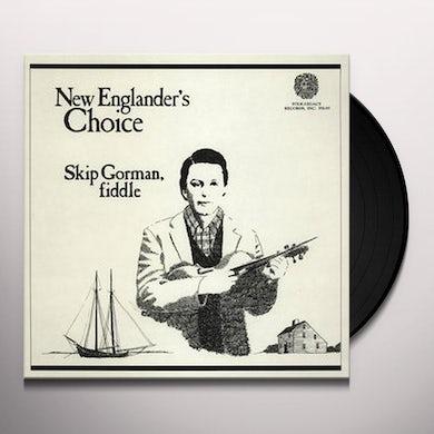 Skip Gorman NEW ENGLANDER'S CHOICE Vinyl Record