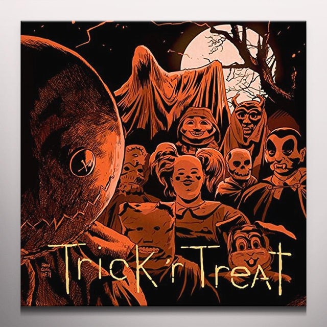 Douglas Pipes TRICK R TREAT / Original Soundtrack Vinyl Record