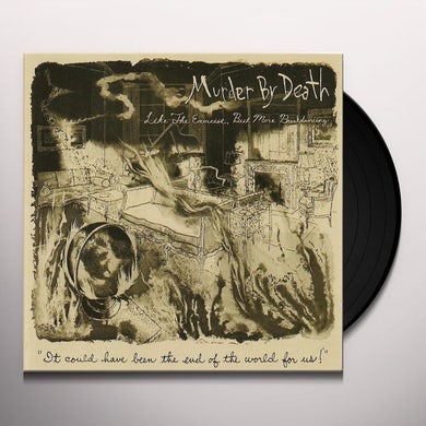 Murder By Death LIKE THE EXORCIST BUT MORE BREAKDANCING Vinyl Record