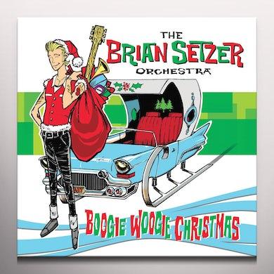 Brian Setzer BOOGIE WOOGIE CHRISTMAS Vinyl Record