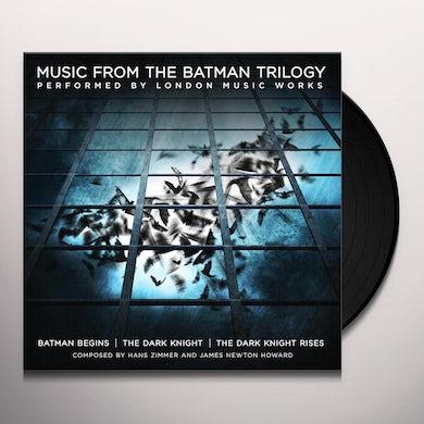 City Of Prague Philharmonic Orchestra MUSIC FROM THE BATMAN TRILOGY (YELLOW VINYL) Vinyl Record